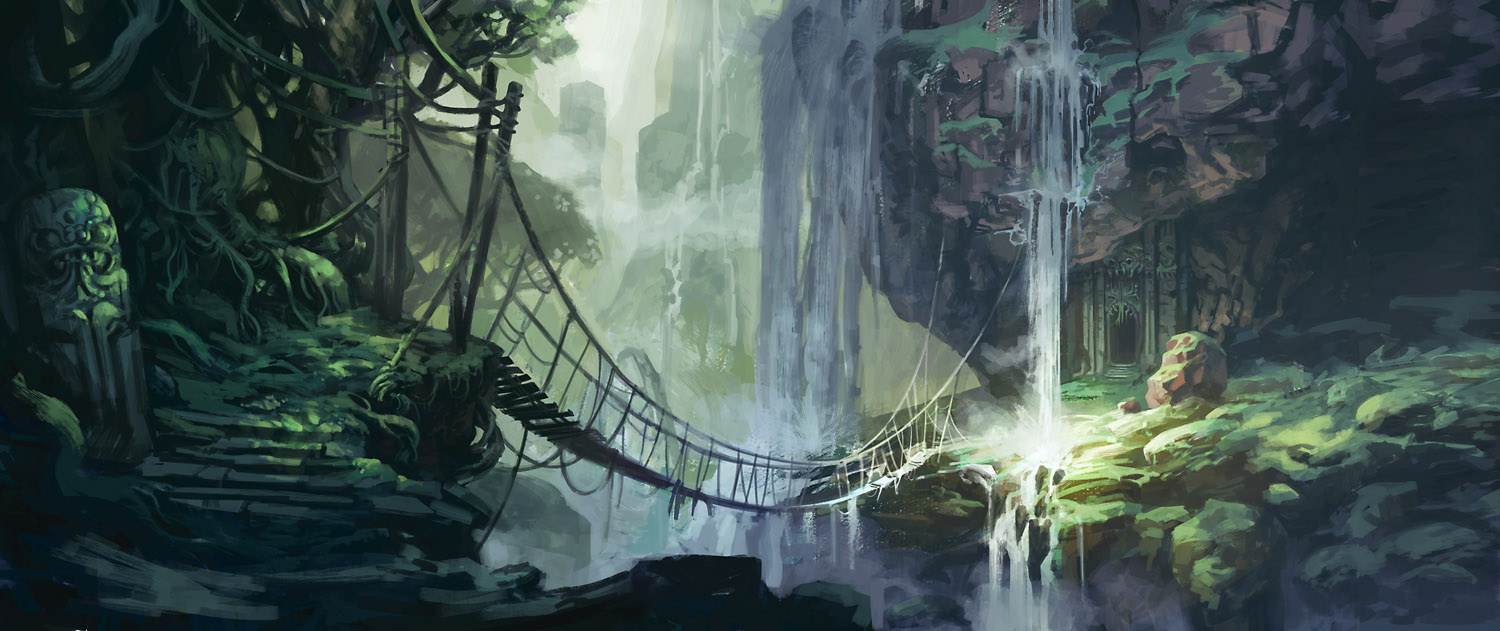 jungle bridge by Jastorama