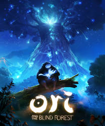 Ori and the Blind Forest Cover Art by Jastorama