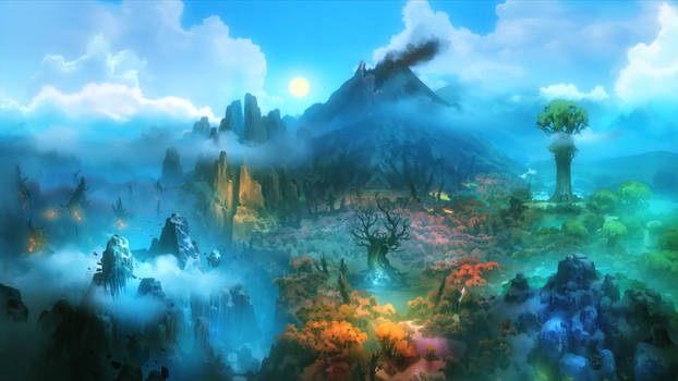 Ori and the Blind Forest - Worldmap