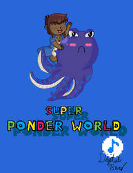 Super Ponder World Pixel Art by Digital-Bluez
