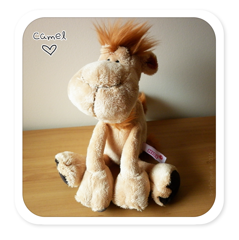 Plushies: NICI - Camel by satinique