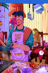 OKUYASU REJOICE ZINE by Josukespimphand