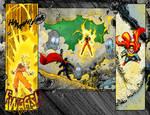 Superman VS Gokou Page 8 COLOR