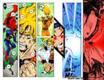 Superman VS Goku Page 11 Color
