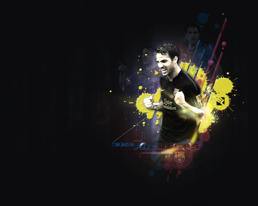 Cesc Fabregas Wallpaper by eaglelegend on DeviantArt