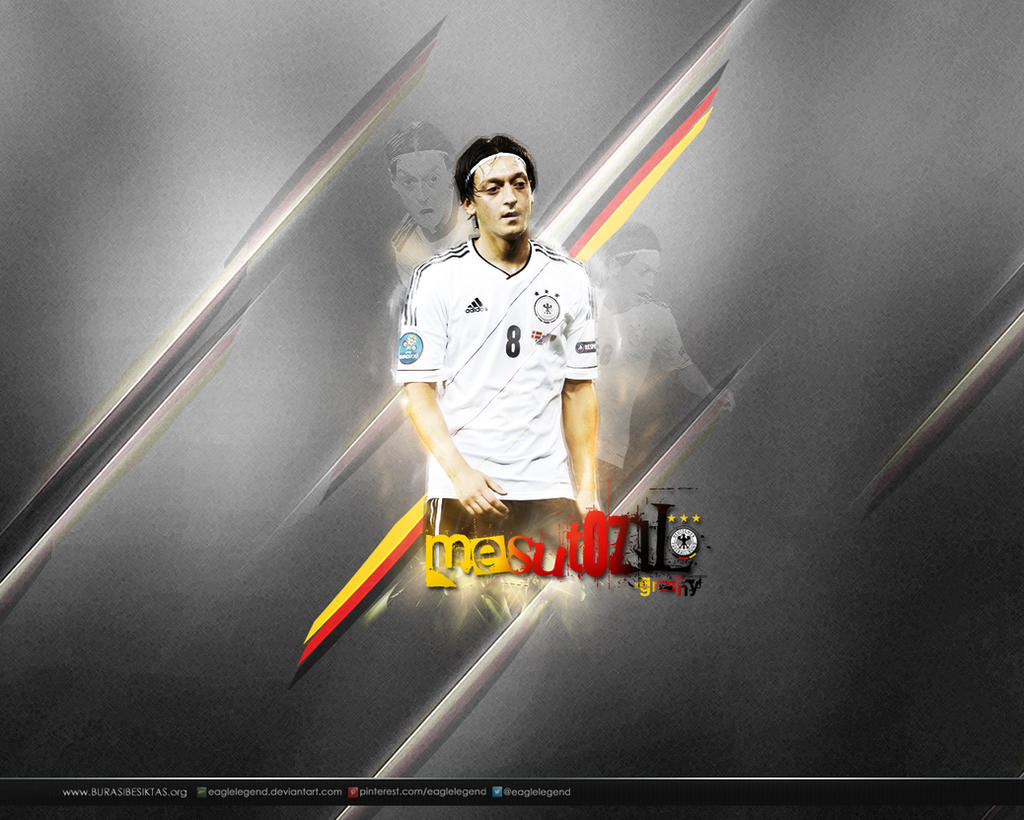 Mesut Ozil Wallpaper By Eaglelegend On DeviantArt