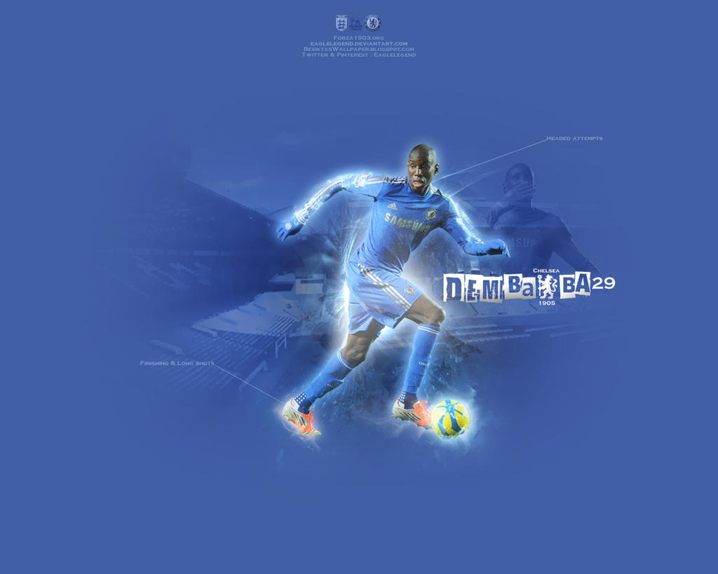 Demba Ba Wallpaper by eaglelegend