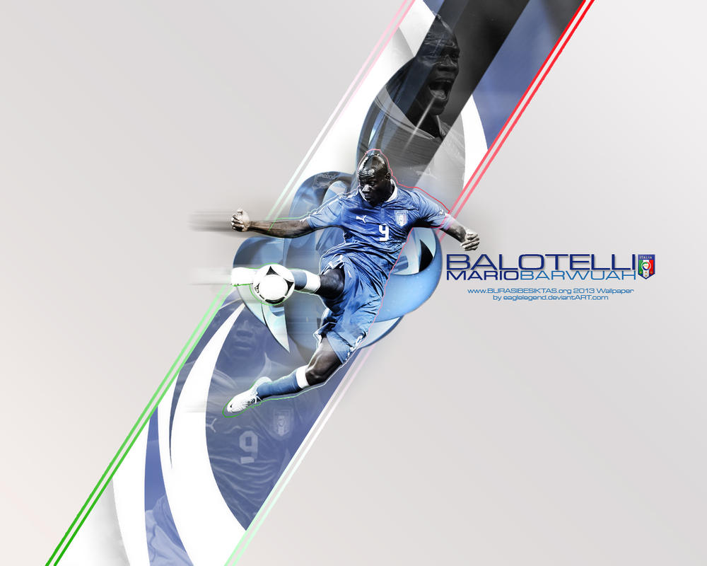 Mario Balotelli Wallpaper by eaglelegend