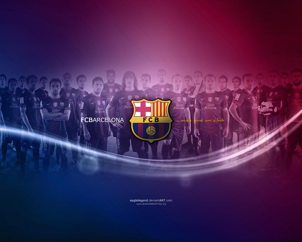 FC Barcelona Wallpaper by eaglelegend