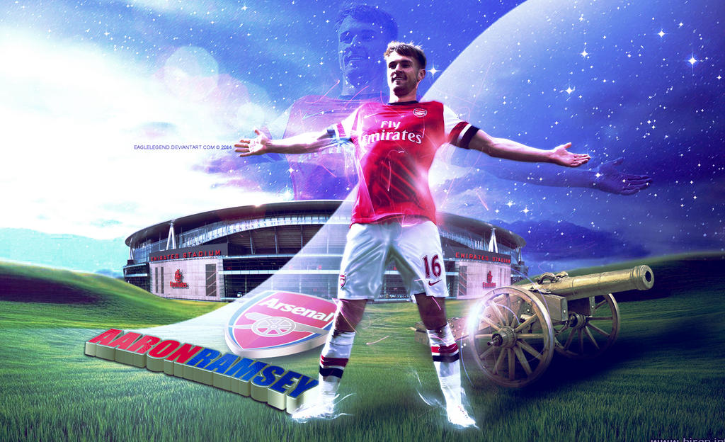 Aaron Ramsey Wallpaper by eaglelegend