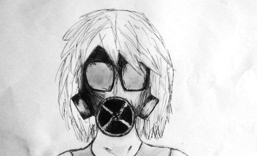 Evil Gas Mask Drawing ...