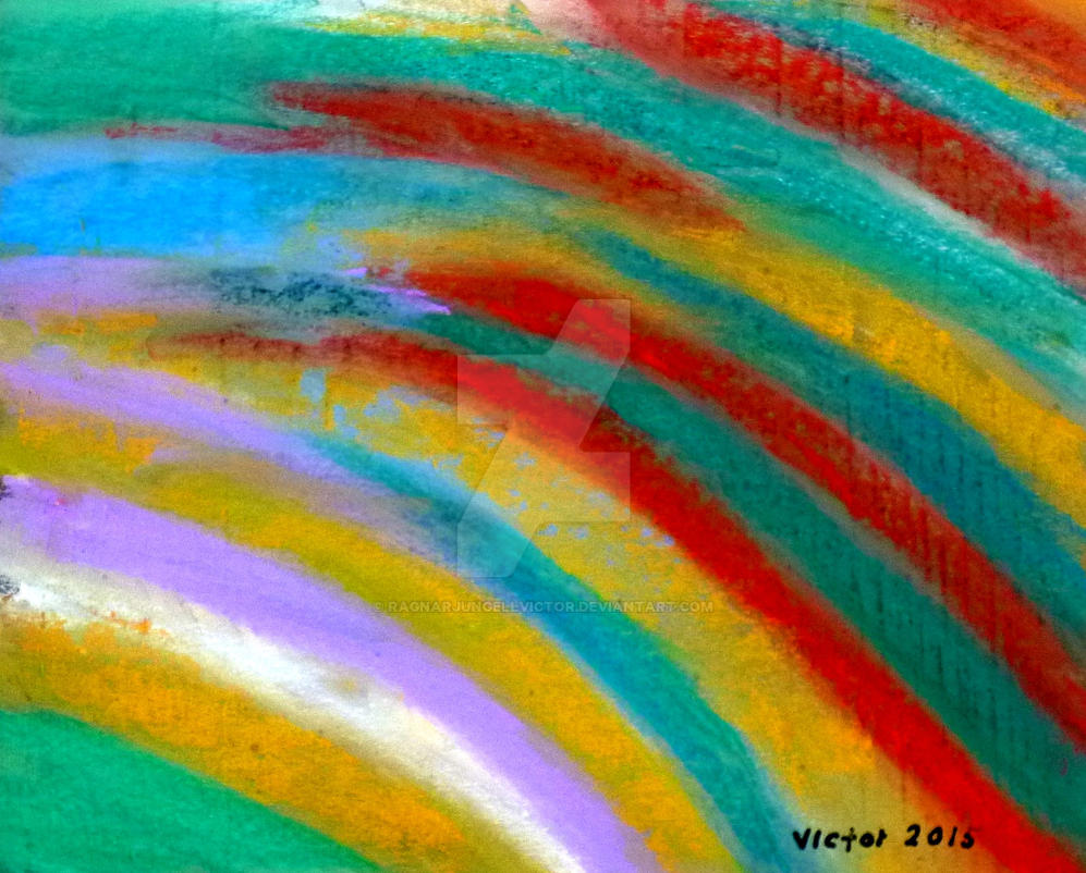 Abstract painting 466 by ragnarjungellvictor