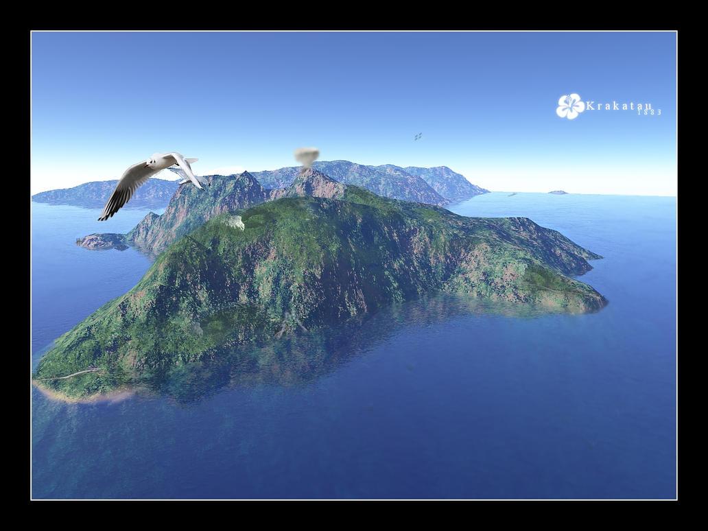 Wip - krakatau by StefanHuerlemann