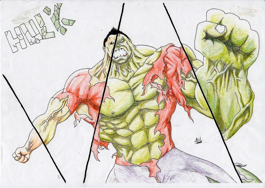 The Hulk - Transformation by Finfr0sk on DeviantArt