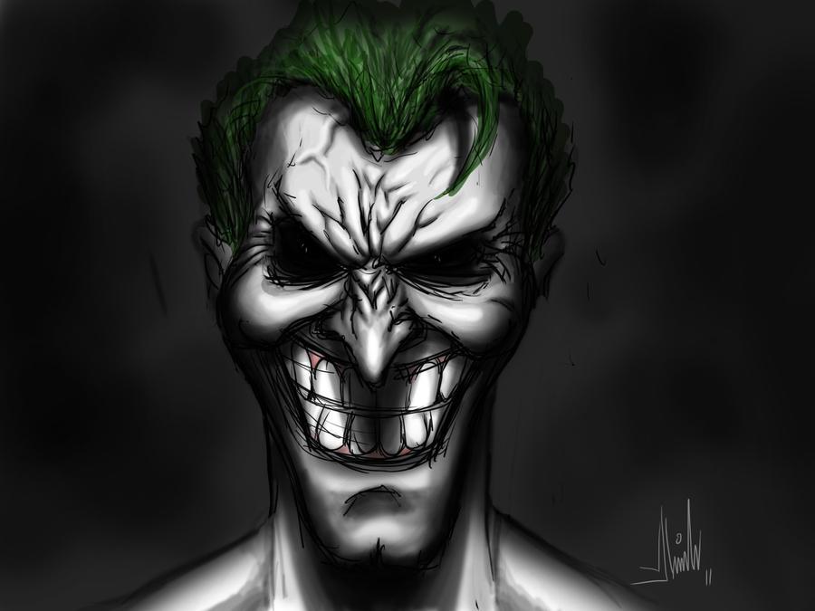 how to fix joker smile
