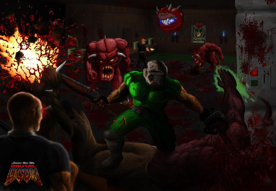 Brutal Doom by Finfr0sk