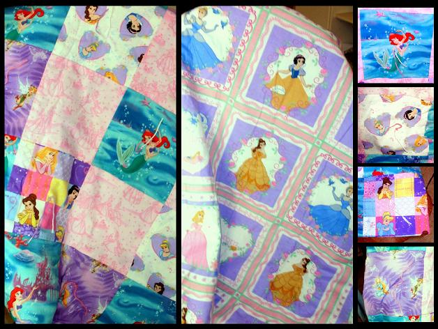 Disney Princess Quilt by TheHarlequinRomance on DeviantArt : disney princess quilt - Adamdwight.com