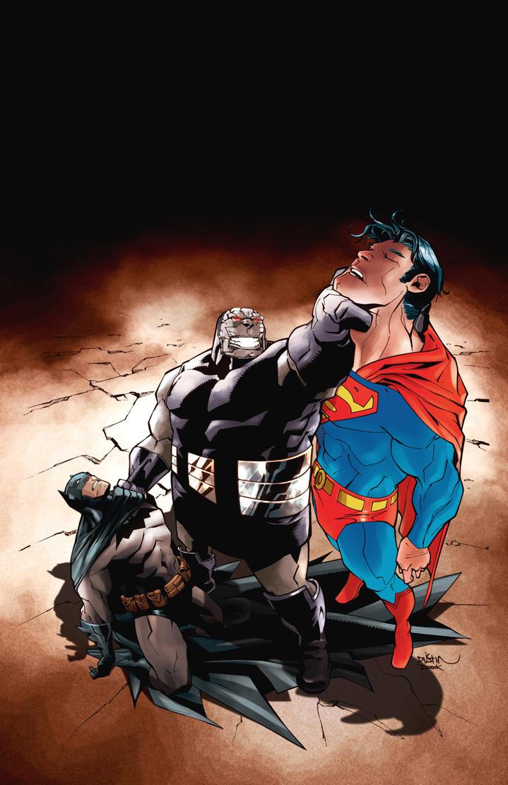 Superman Batman 42 cover by dfridolfs