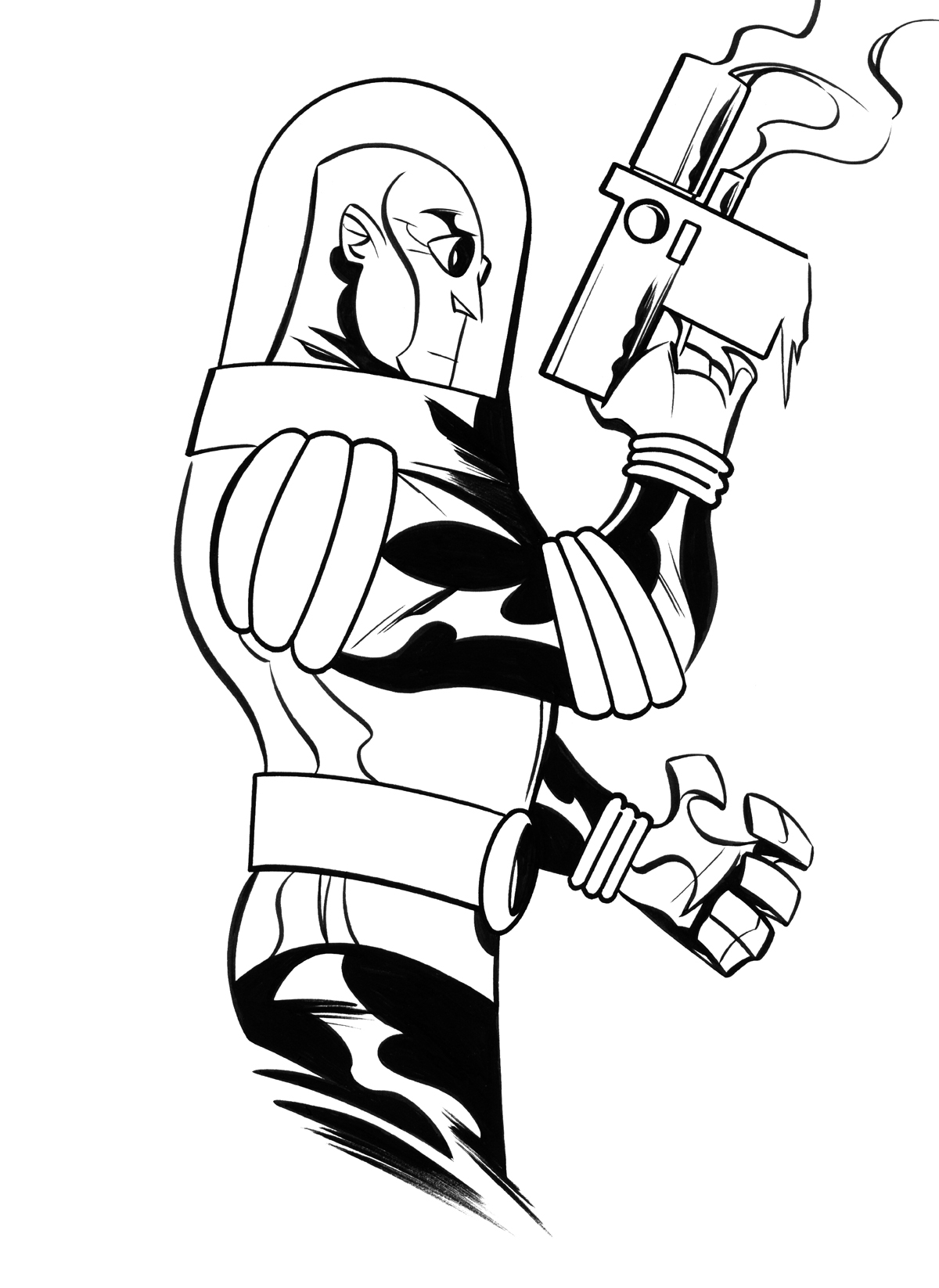 Coloring Pages Mr Freeze Coloring Pages mr freeze by dfridolfs on deviantart dfridolfs