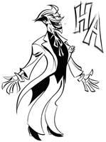 Joker Ha by dfridolfs