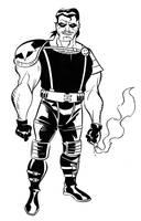 Watchmen - Comedian by dfridolfs