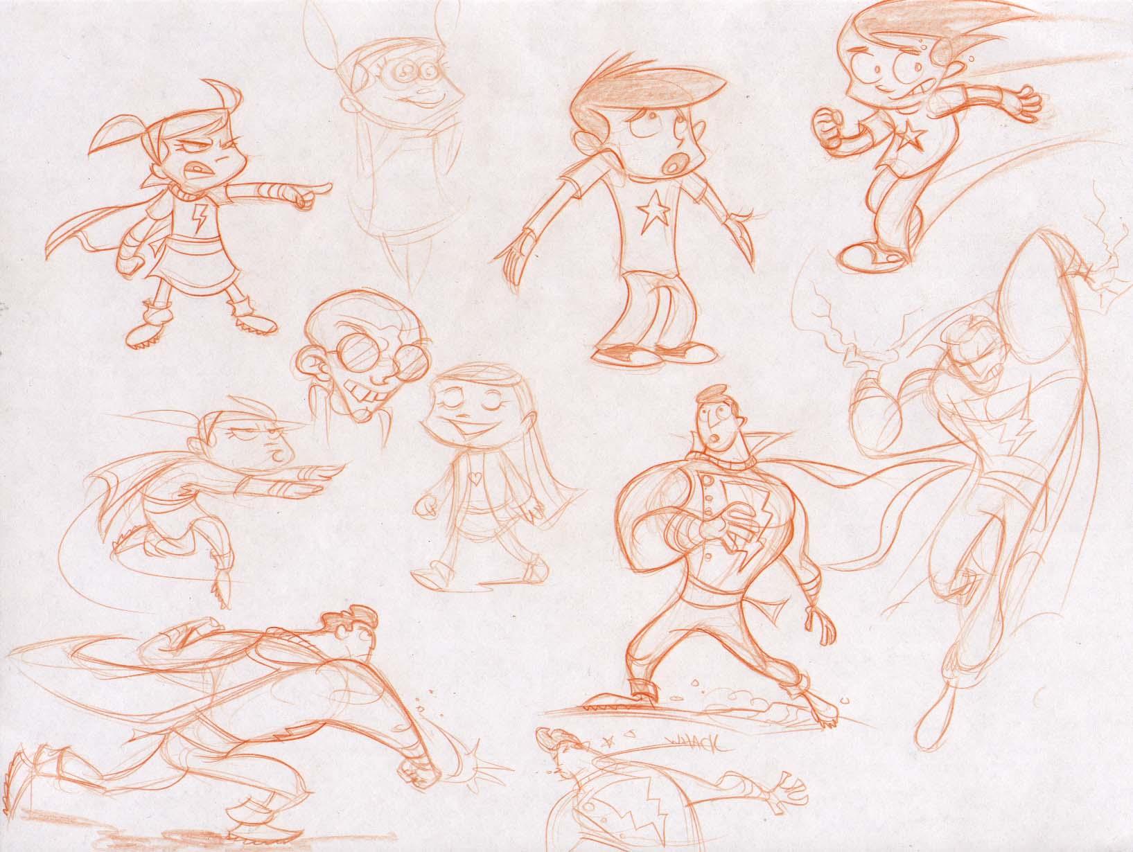 Shazam doodles 2 by dfridolfs
