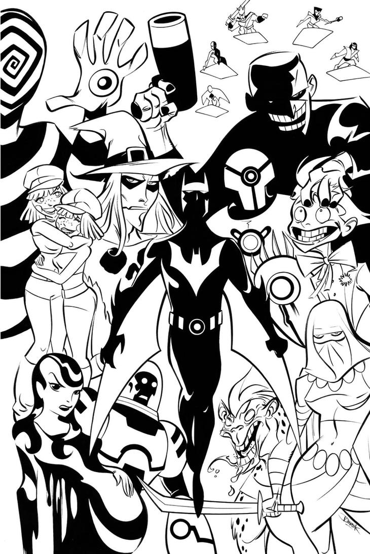 Batman Beyond Inks By Dfridolfs On DeviantArt