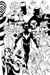 Batman Beyond inks