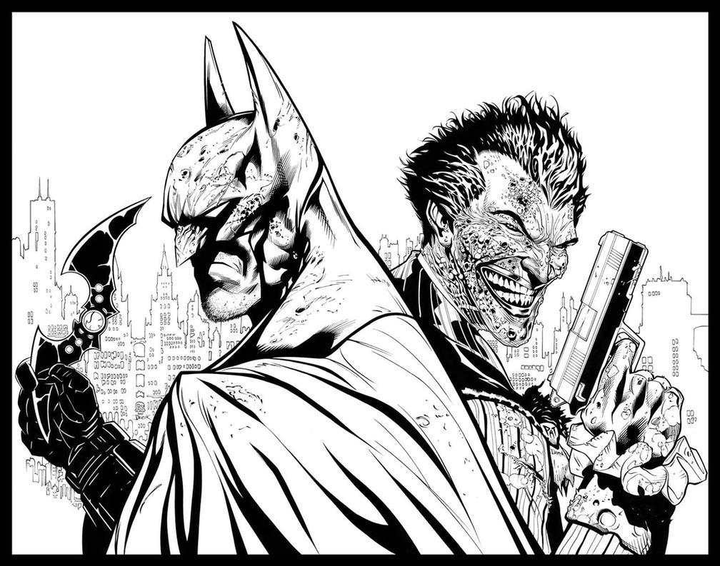 arkham city: end game by dfridolfs on deviantart - Batman Arkham City Coloring Pages