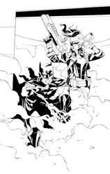 Batman and ? by dfridolfs