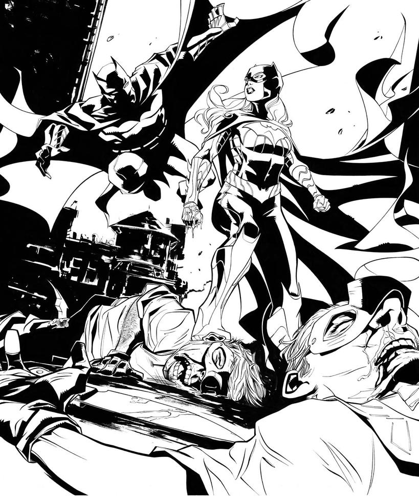 Batman Eternal 4 by dfridolfs