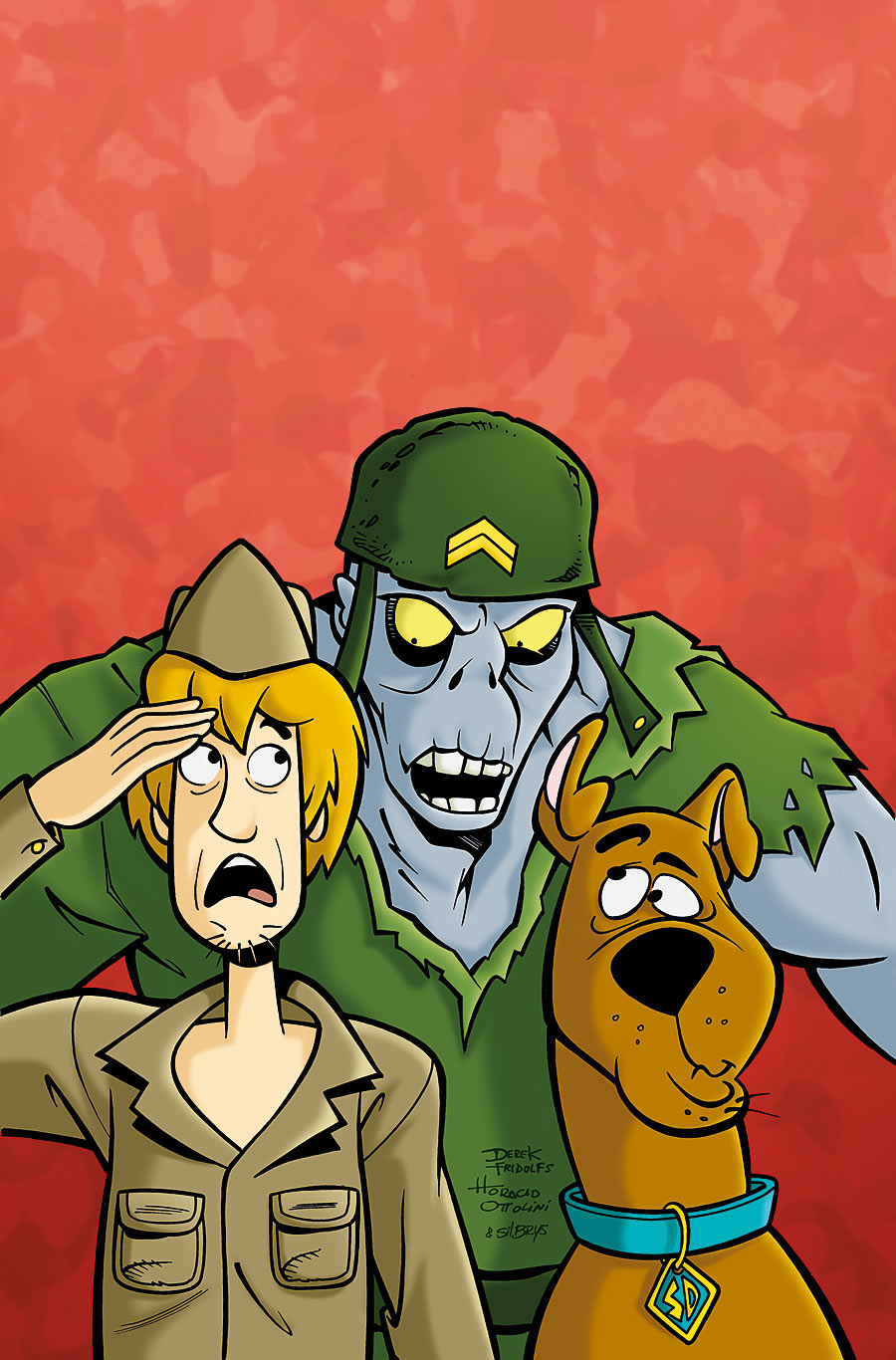 SCOOBY-DOO Scary Soldier by dfridolfs
