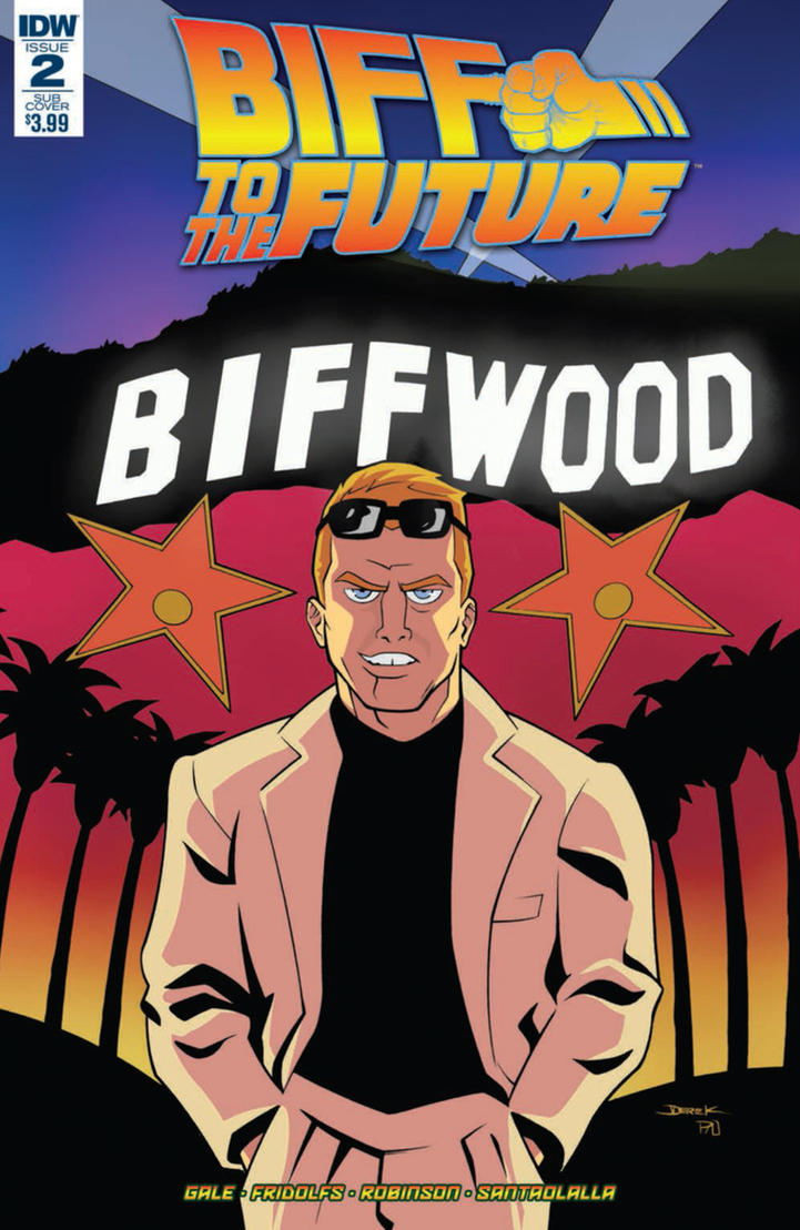 BIFF to the Future 2 cover by dfridolfs