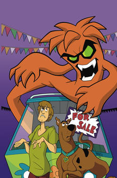 SCOOBY-DOO USED SCARS