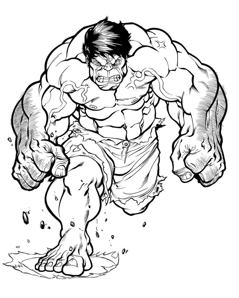 Cartoon Hulk Black And White Images amp Pictures Becuo