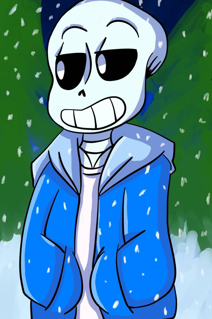 Sans the skeleton by Ryan-Draw