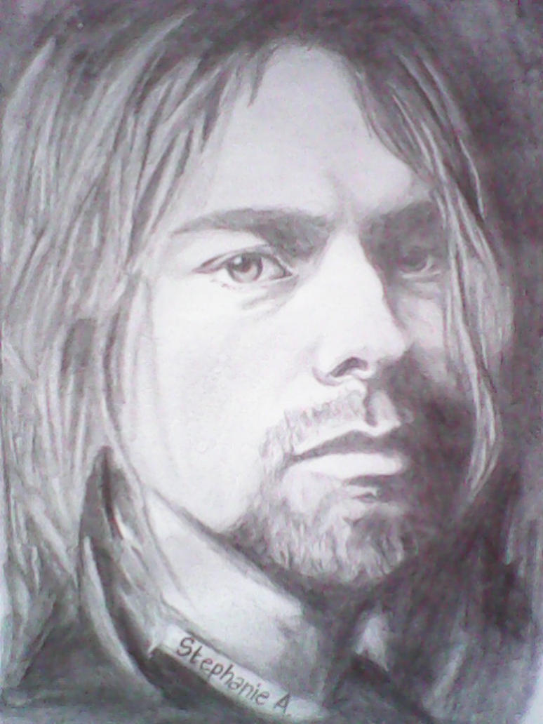 Kurt Cobain by stephanieAurelio