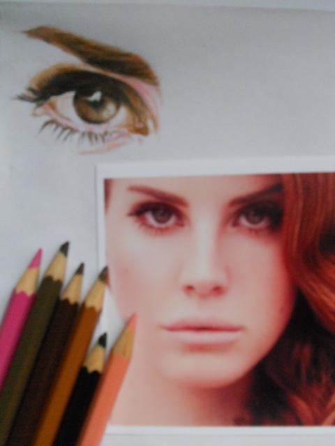 Lana Del Rey WIP I by stephanieAurelio