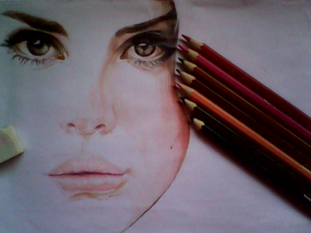 Lana Del Rey WIP 3 by stephanieAurelio