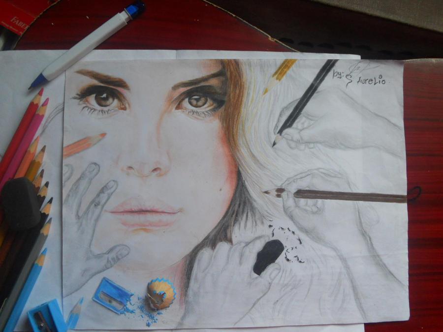 Lana Del Rey (Behind the Scene) by stephanieAurelio
