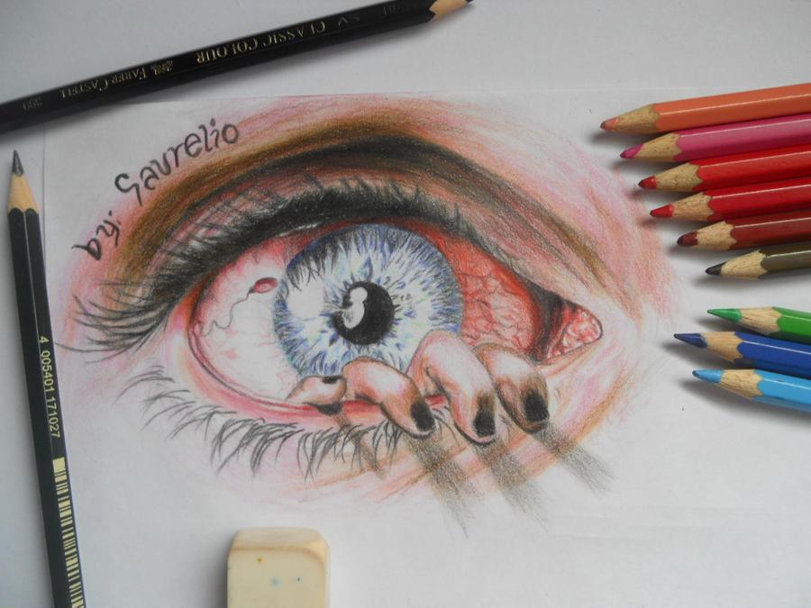 Eye can't see it by stephanieAurelio