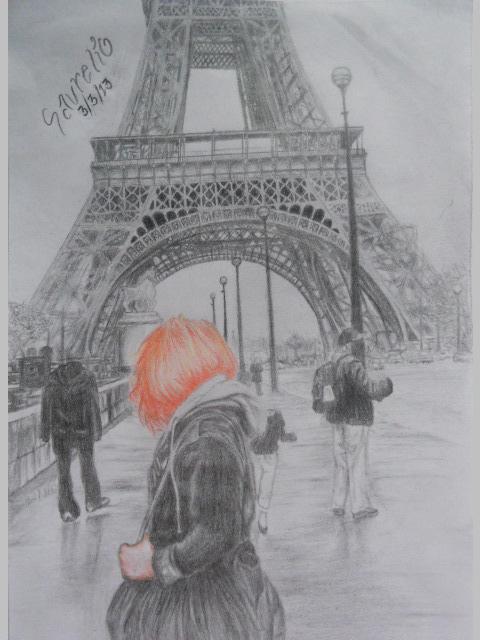 Alone In Paris by stephanieAurelio