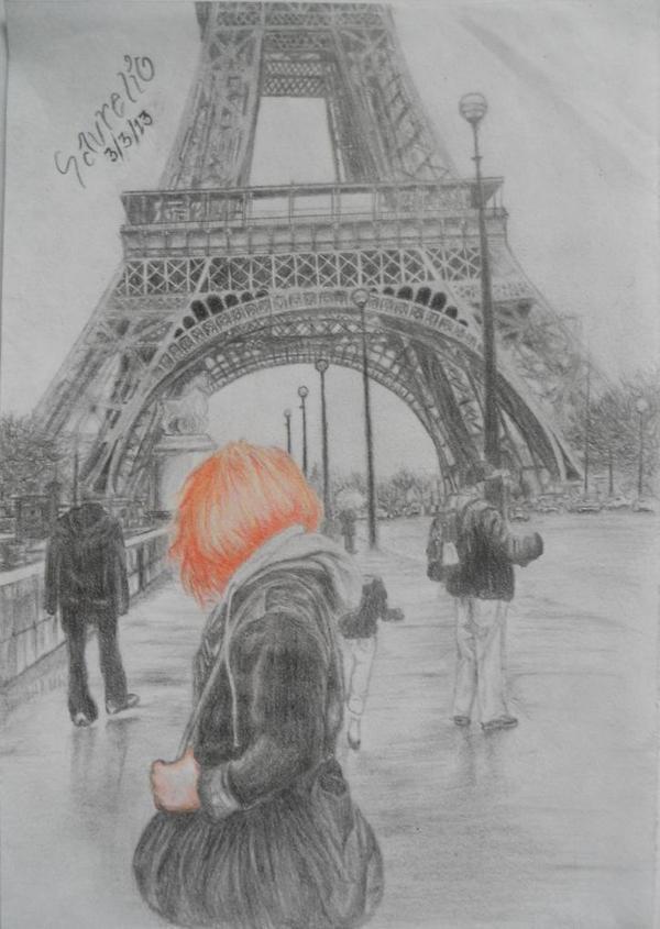 Alone in Paris II by stephanieAurelio