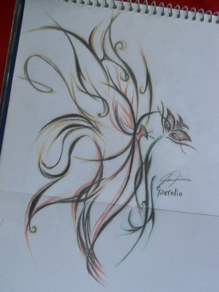 Tribal Butterfly by stephanieAurelio