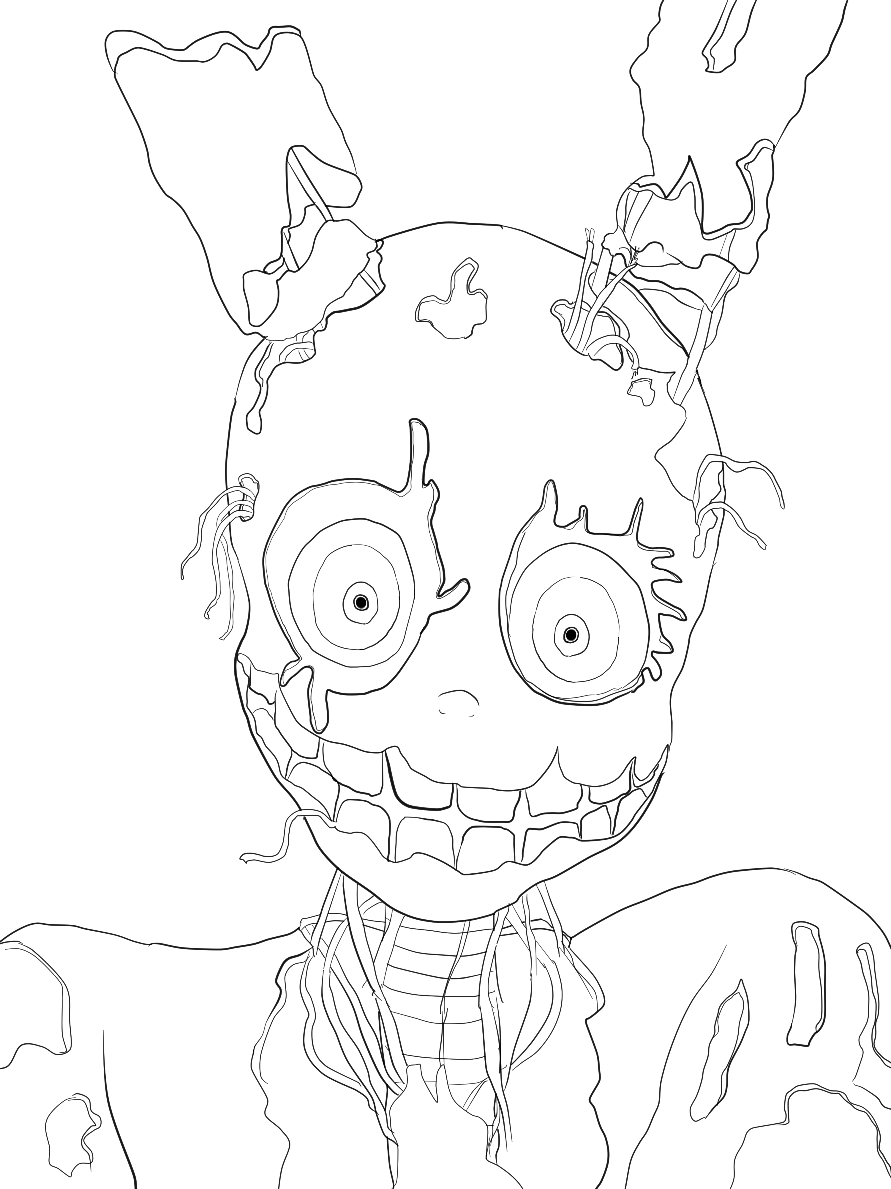 Line Art Deviantart : Ballora drawing related keywords long