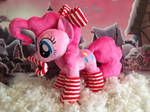 Pinkie Pie plush. Christmas. by My-Little-Plush