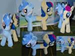 Plush Lyra and Bon-Bon together! by My-Little-Plush
