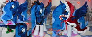 My little pony. Princess Luna plush. Christmas