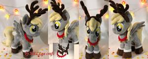 Derpy / Muffin Christmas Deer Plush