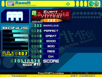 Stepmania: La Seniorita by Tagnard